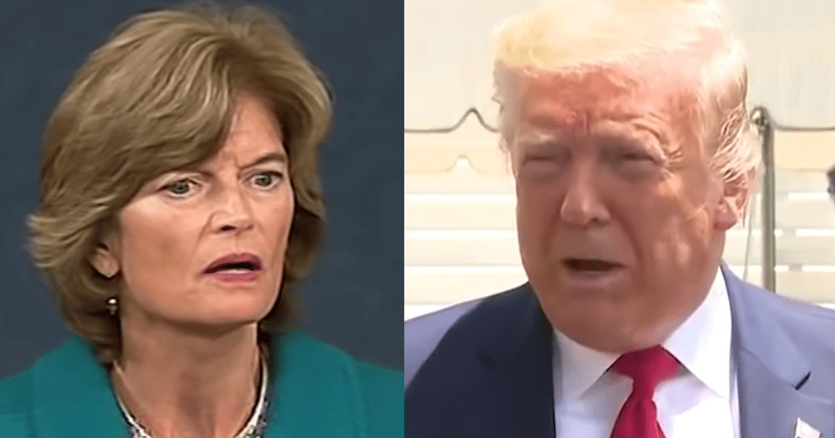 """Murkowski says she doesn't think Trump could ever be re-elected after """"strong case"""" by Dems"""