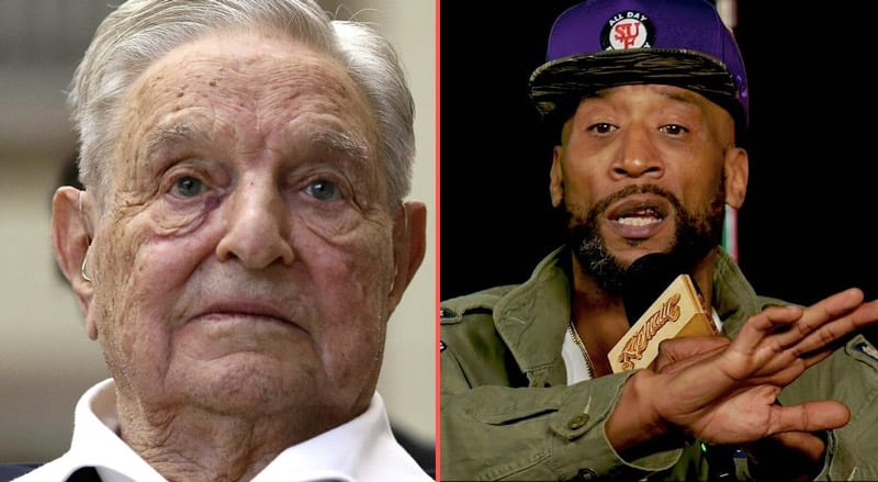 Rapper Lord Jamar: 'George Soros Using Black Lives Matter to Control Us - It's NOT Our Movement'