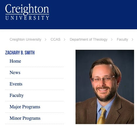 """Creighton professor under fire after calling pro-police event a """"white supremacist rally"""""""