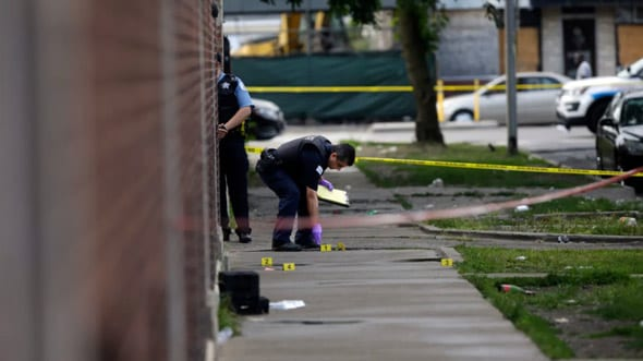 violent crime is spiralling out of control in democrat controlled cities