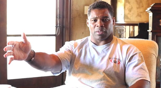 """NFL Legend Herschel Walker """"Why are we penalizing people for what their ancestors did?"""""""