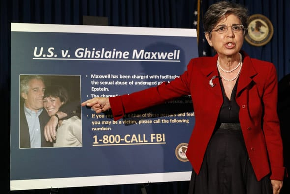 u s authorities arrested ghislaine maxwell on multiple charges related to epstein s child sex trafficking operation