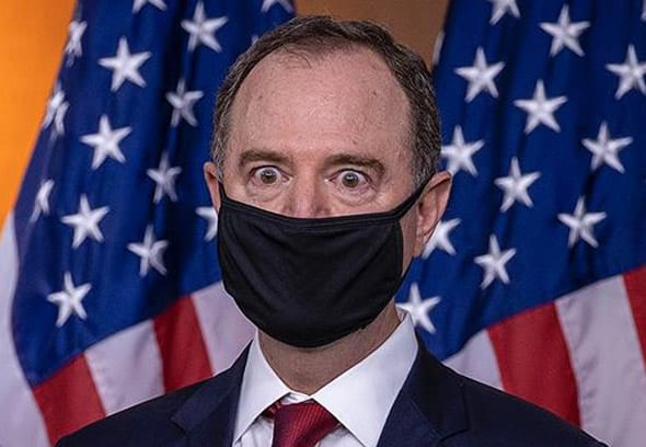 adam schiff suggested that we might be soon leaving america