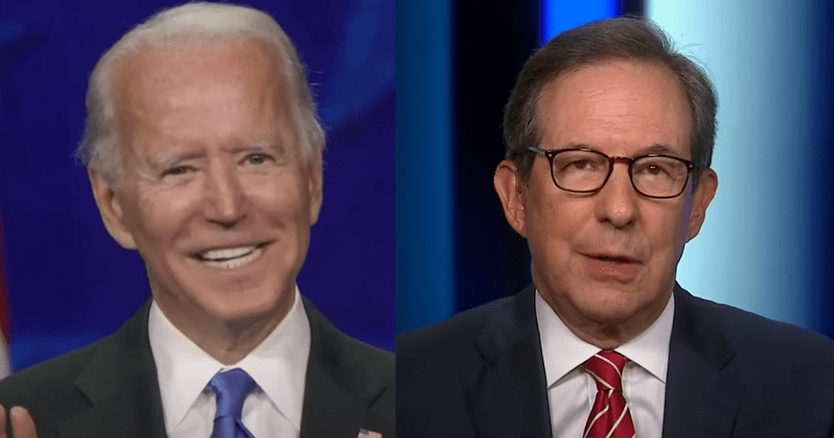 """WATCH: Chris Wallace praises Biden, says """"He is not getting pushed around by the left"""""""