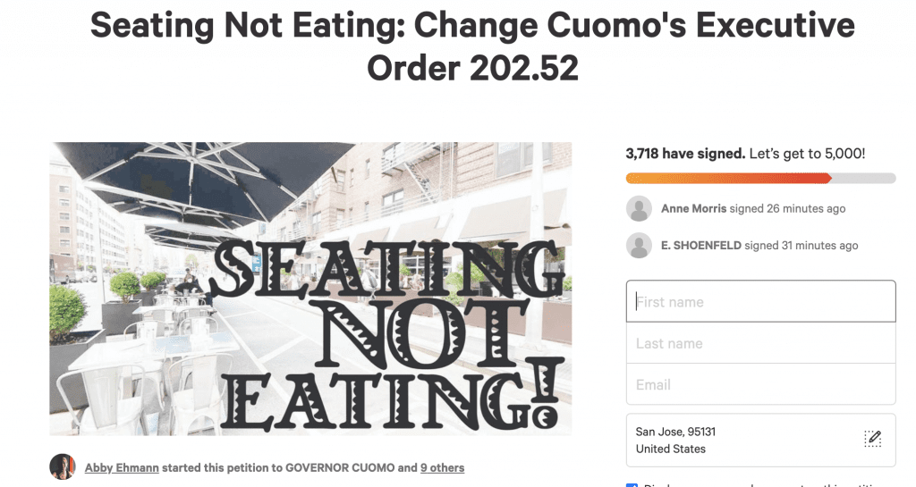 NYC bar loses liquor license a week after starting petition against Cuomo policy on bars and restaurants
