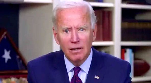 joe biden is accused of hiding in his basement and is refusing to debate with trump in person