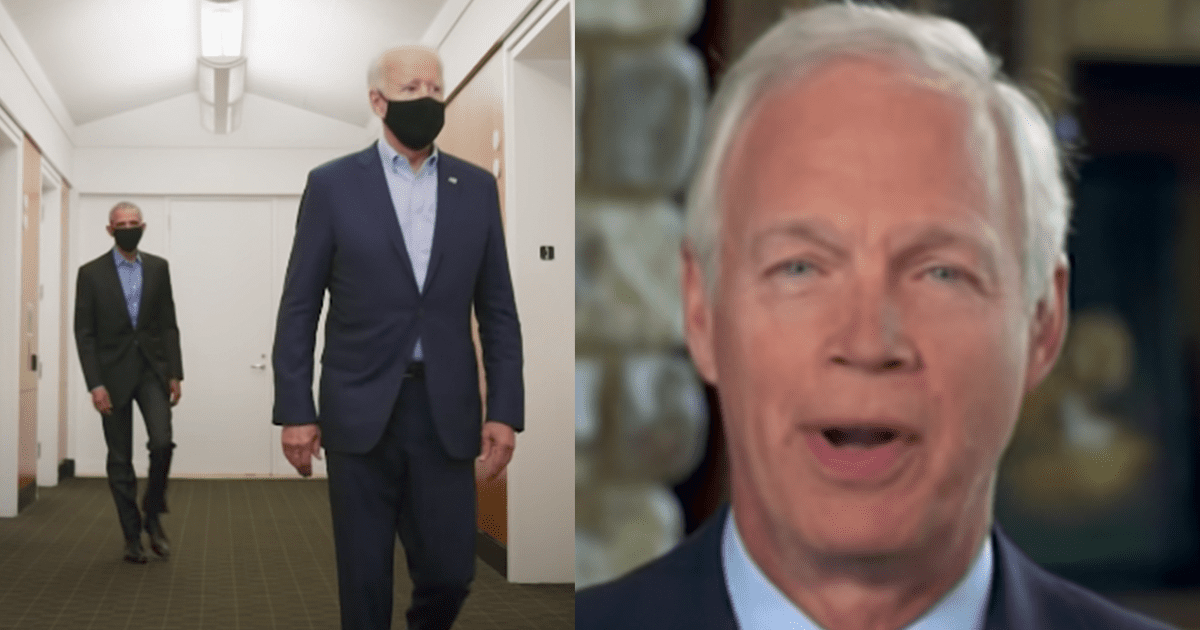 """WATCH: Senator Ron Johnson claims """"agencies are covering for the Bidens"""""""