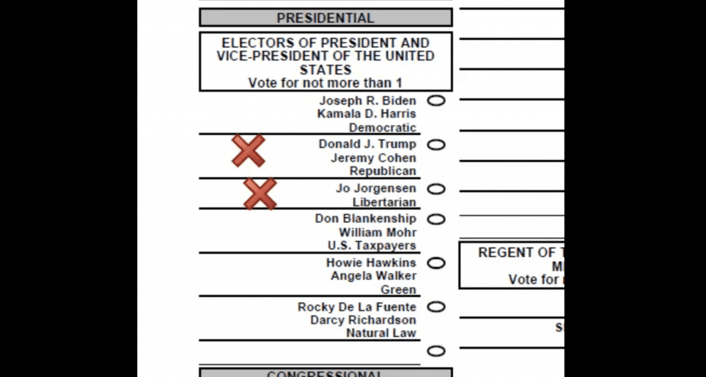 Over 400 Michigan Overseas Ballots Incorrectly Listed Jeremy Cohen, Not Pence as Trump's Running Mate