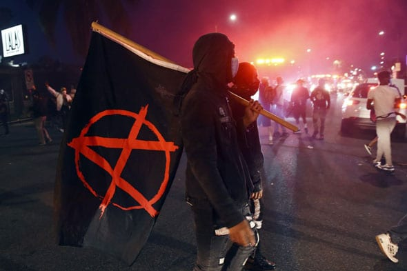 the email reveals antifa has organized the violent rioting in portland according to dhs
