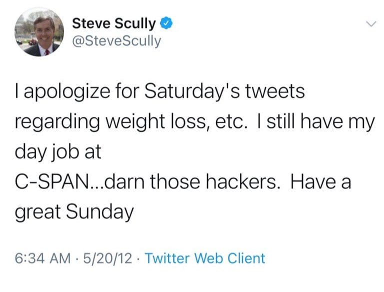 Twitter users continue to question Steve Scully's claim that his account was hacked