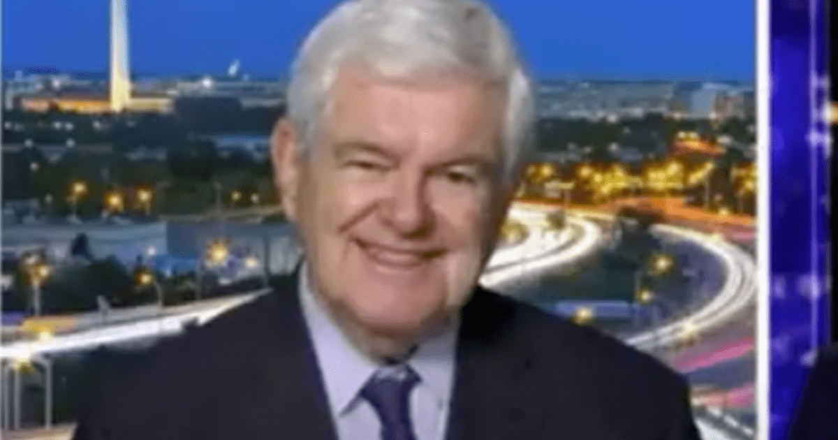"""LISTEN: Newt says """"President Trump still has such enormous reach in the party that nobody can fight him"""""""