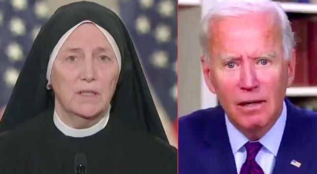 sister dede byrne has warned that catholic biden and kamala harris make the most anti life presidential ticket ever