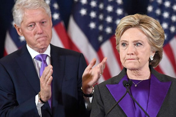 question will the clintons ever get over the 2016 election answer no