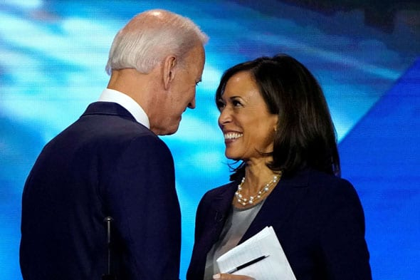 joe biden s running mate sen kamala harris is named as one of the key domestic contacts