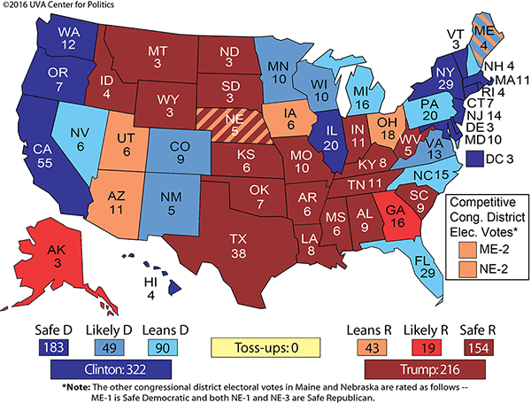 Larry Sabato is predicting another electoral college landslide like he did four years ago