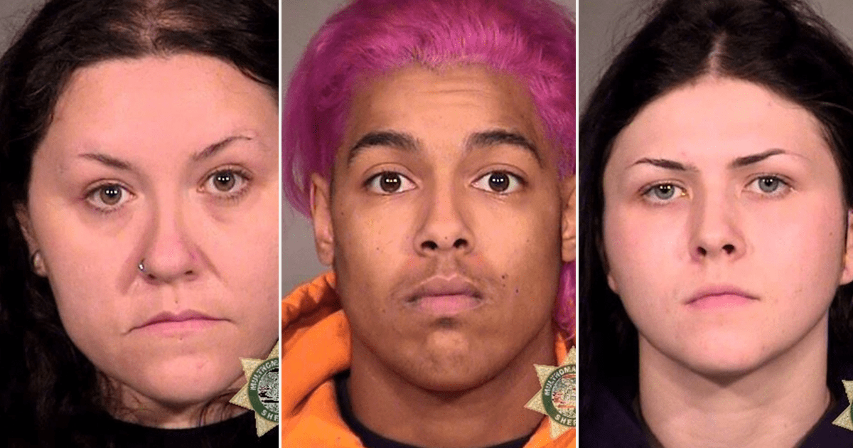 VIDEO: 3 Arrested in Portland over Toppled and Defaced War Memorial