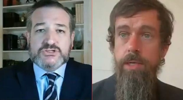 the news comes weeks after sen ted cruz r tx challenged twitter ceo jack dorsey for censoring conservatives on the platform