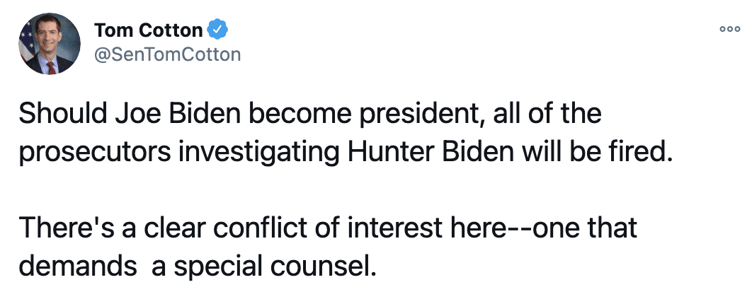 BREAKING: Trump interested in appointing special counsel to probe election and Hunter Biden