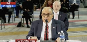 Watch highlights from today's Arizona hearing with Team Trump, including Trump's phone call into the hearing!