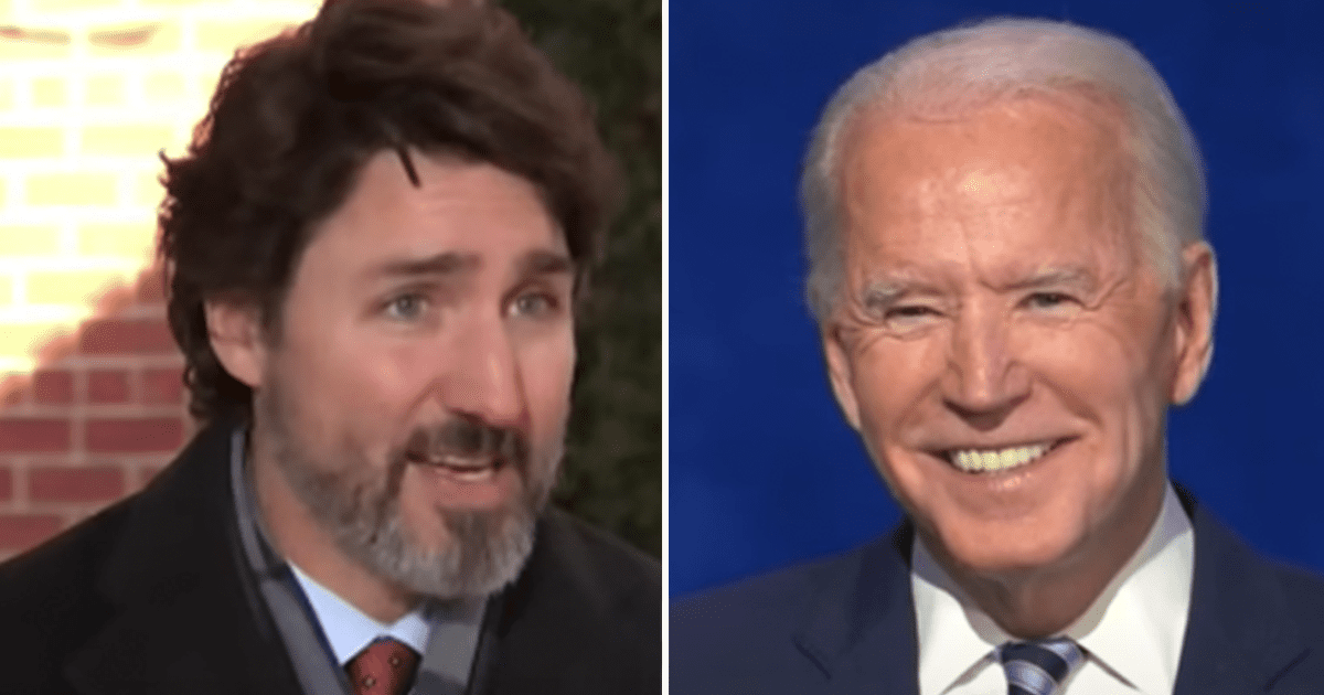 """Trudeau shades Trump, reportedly tells Biden """"U.S. leadership has been sorely missed over the past year"""""""