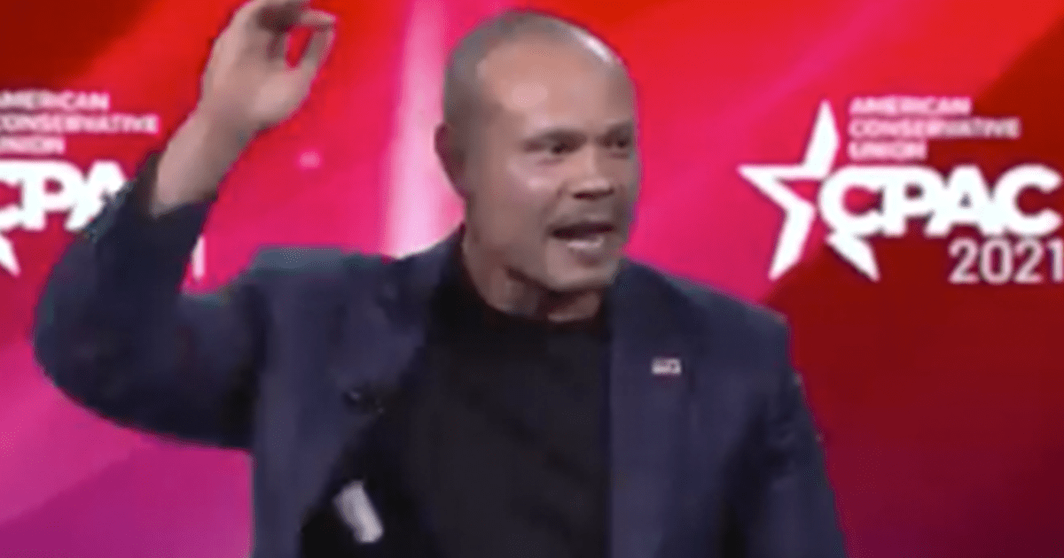 "WATCH: Crowd erupts in cheers as Dan Bongino says ""leave here tonight with your chest out proud…you are on the right side of everything"""