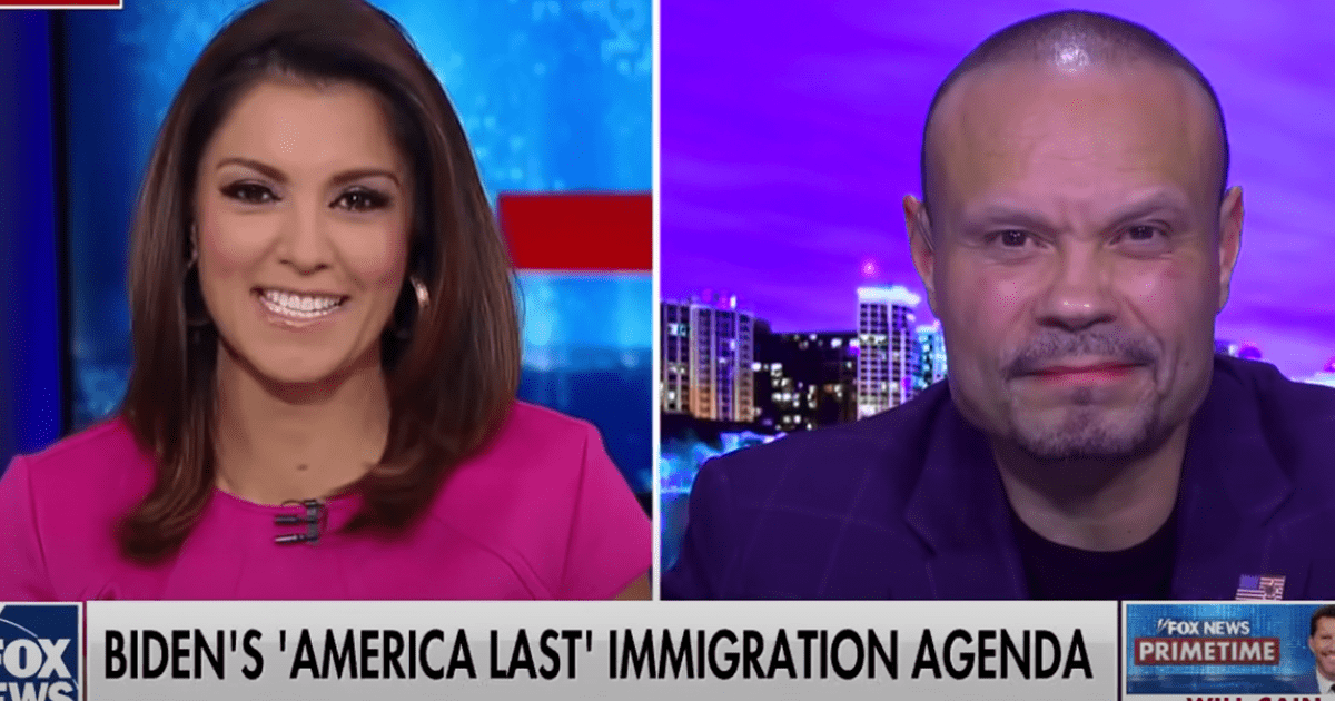 "WATCH: Dan Bongino accuses Biden of having an ""America Last"" Immigration Policy"
