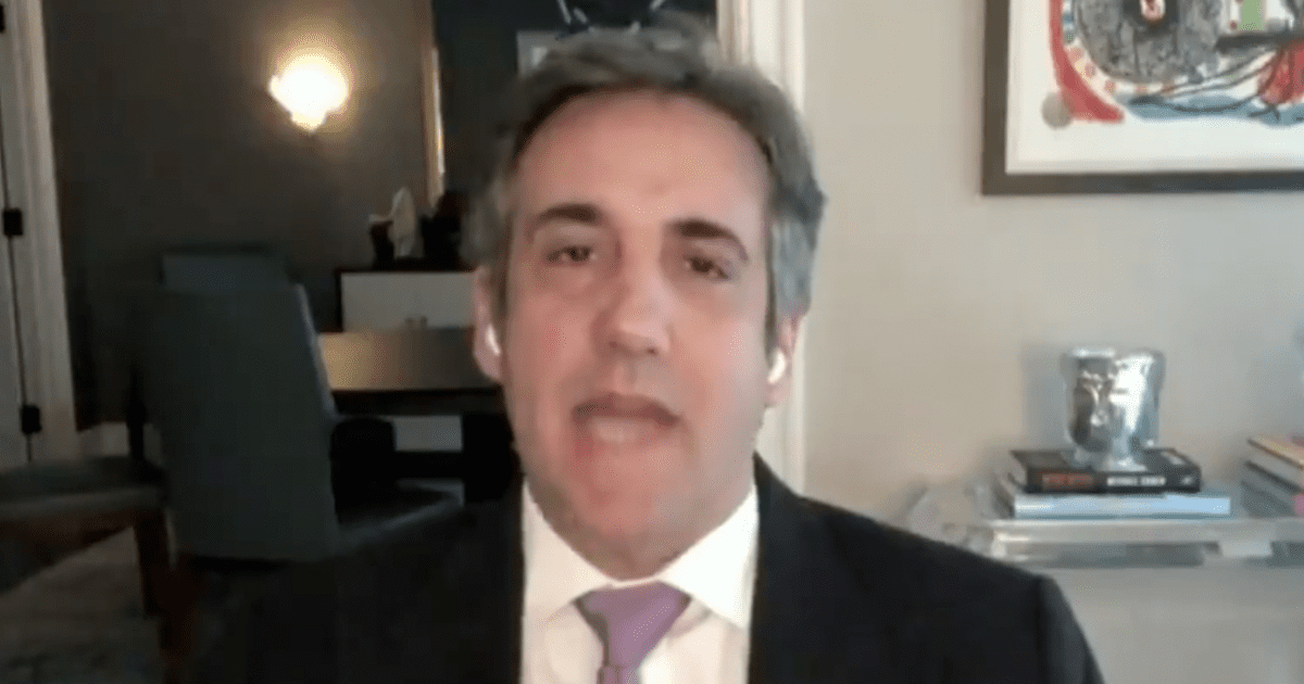 WATCH: Michael Cohen predicts Trump tax investigation will lead to jail time