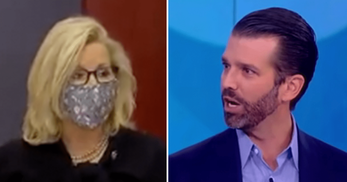 """Don Jr. fires back at Liz Cheney after she says """"I don't believe"""" Trump """"should be playing a role in the future of the party or the country"""""""