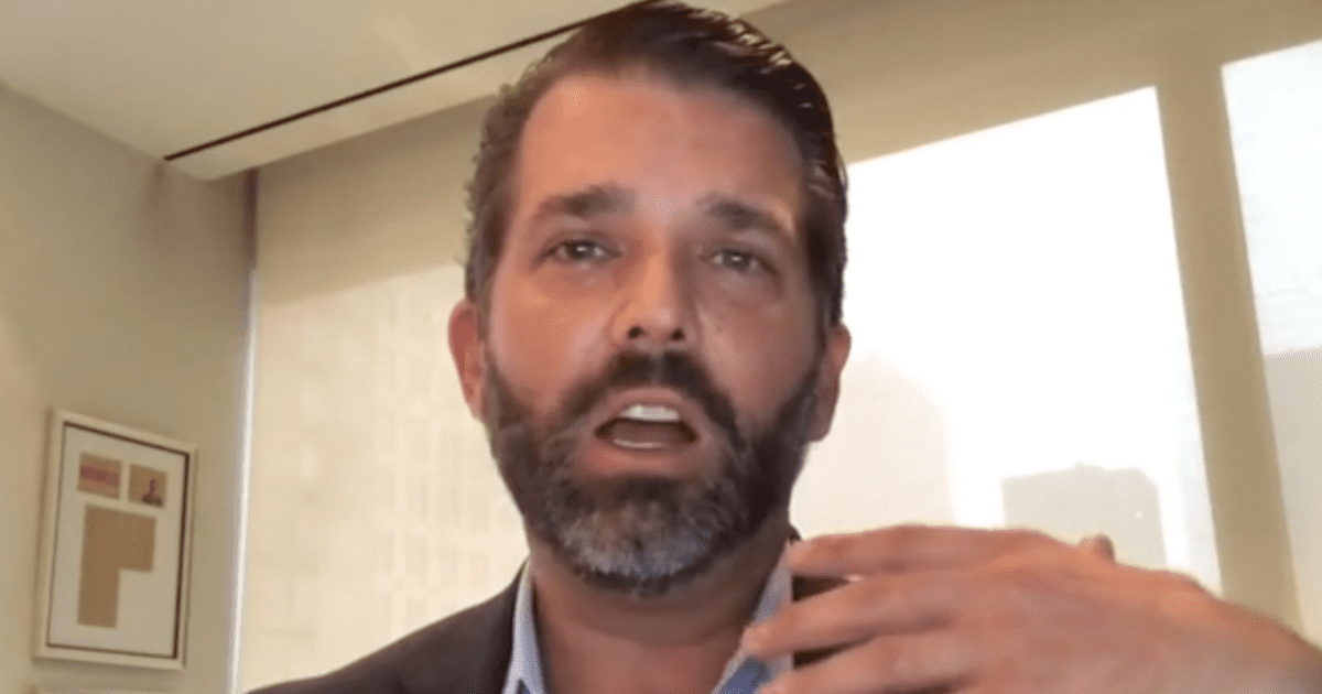 """WATCH: Don Jr. blasts SCOTUS decision """"If they're doing this to my father, who won't they do it to?"""""""
