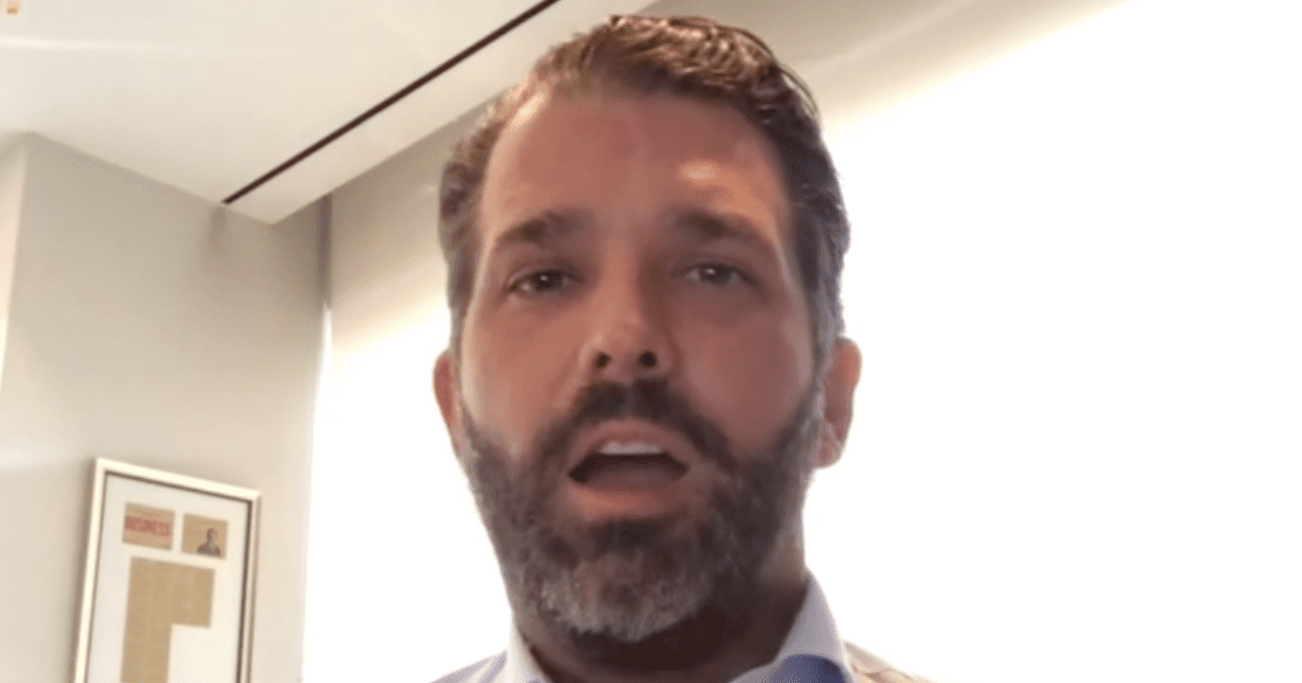 WATCH: Don Jr. gives his thoughts on the passing of Rush Limbaugh