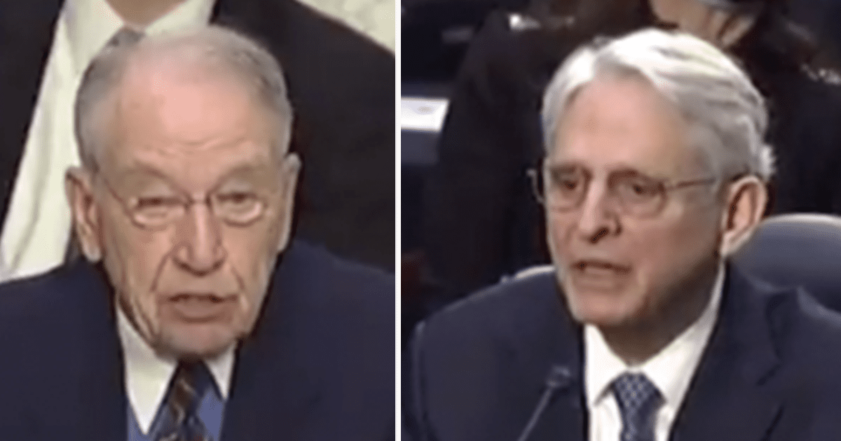 WATCH: Grassley asks Garland if he's committed to supporting Durham's probe, Garland accused of not committing