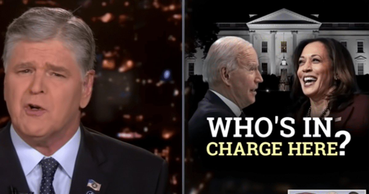 WATCH: Hannity asks if Americans be concerned about who's really in charge of the Biden admin