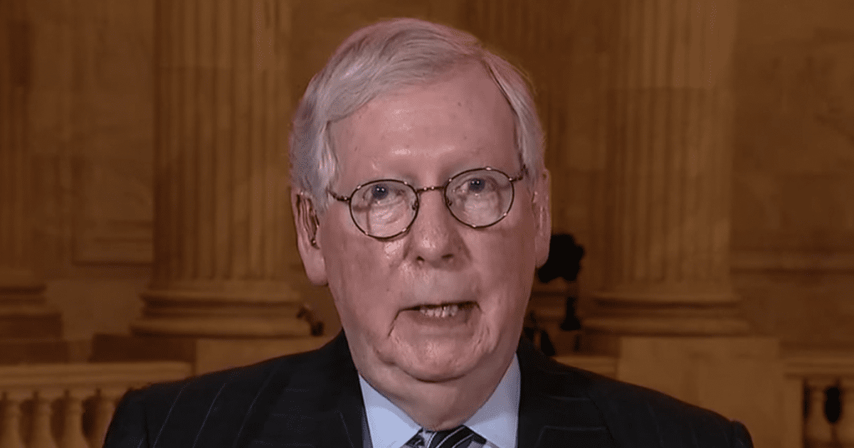 """WATCH: McConnell says he """"absolutely"""" would support Trump if he's the 2024 GOP nominee"""