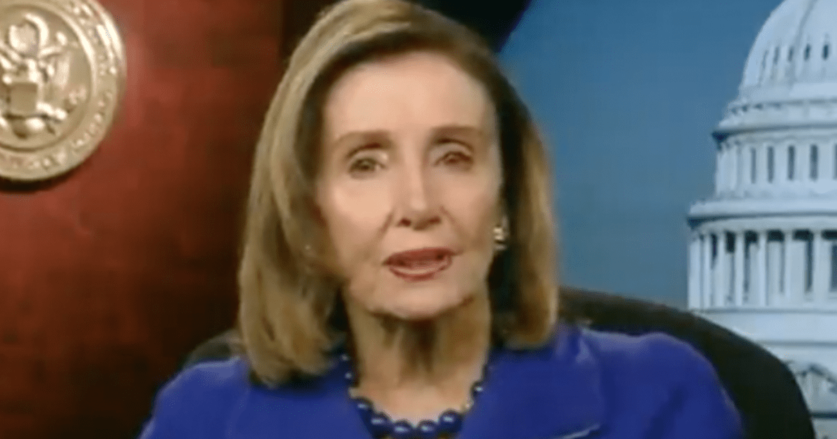 """WATCH: Pelosi releases video """"Last month, insurrectionists attacked our Capitol & democracy"""""""