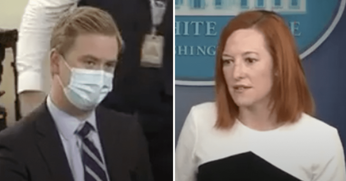 """WATCH: Doocy asks Psaki how what Biden is doing is different than the """"kids in cages"""" he denounced"""