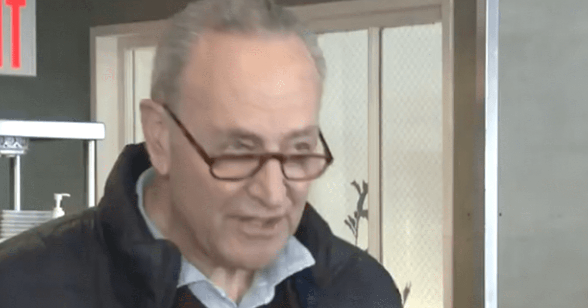 """WATCH: Schumer says """"This is a very strong bill. I hope it will get some Republican support but if it doesn't, as Democrats, we have to pass it anyway."""""""