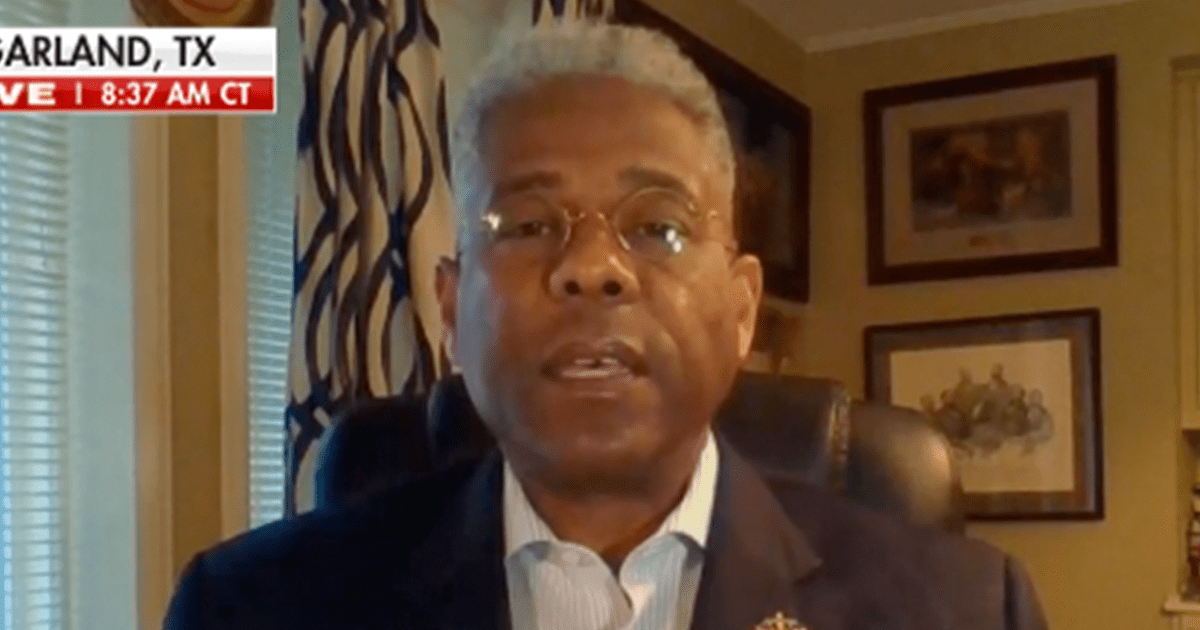 "WATCH: Allen West blasts Biden over vaccine remarks, says ""It's offensive and condescending, but that's what to be expected of the Democrats"""