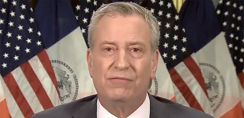 "DUDE: Bill de Blasio dumps on Cuomo, says ""the bullying is nothing new"" and calls for investigation into nursing home scandal"