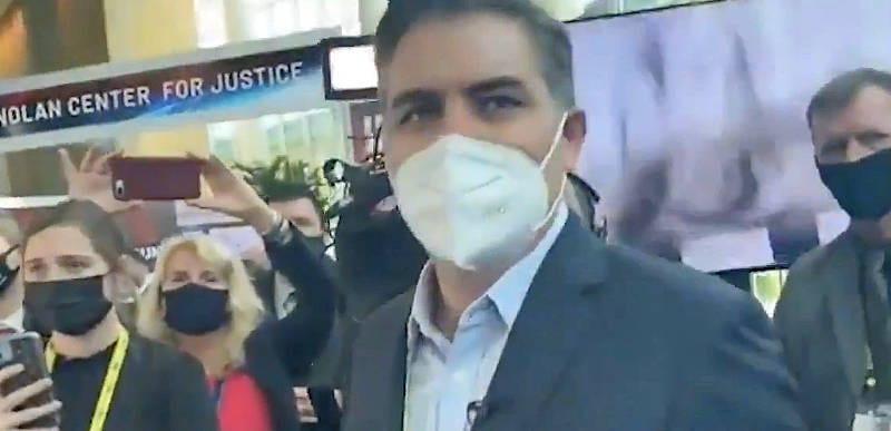 WATCH: Reporter confronts Jim Acosta at CPAC, grills him on when CNN will begin covering Gov. Cuomo's scandals