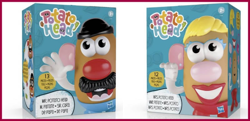BREAKING: Hasbro says Mr. Potato Head will remain a mister and isn't going anywhere