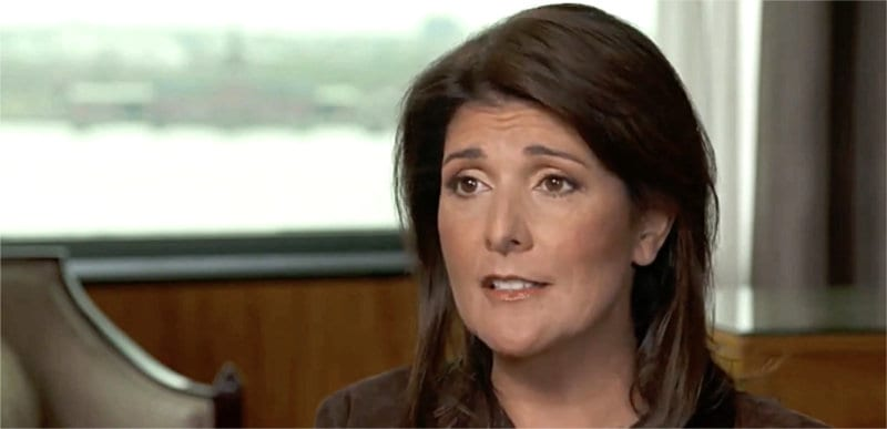 REPORT: Nikki Haley meeting with Trump DENIED