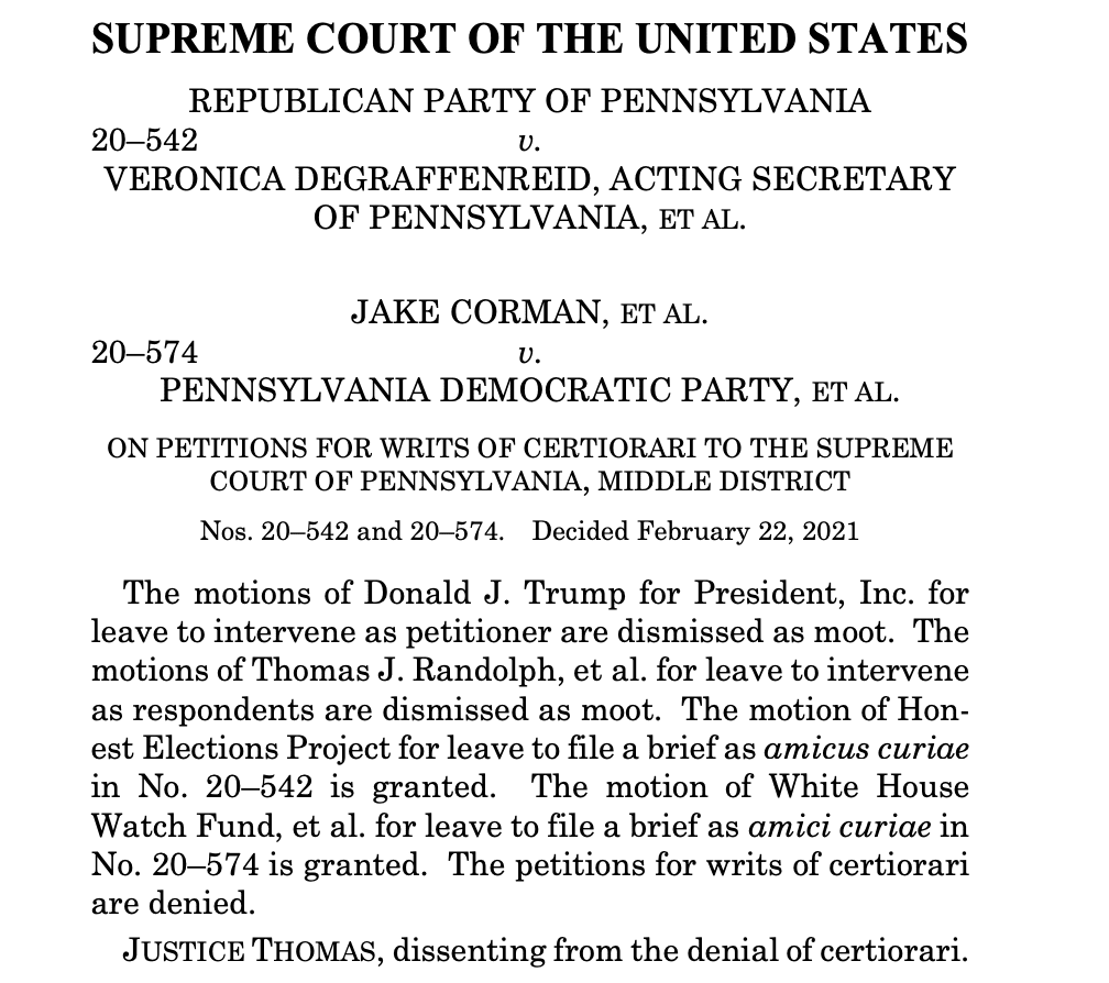 BREAKING: Trump attempt to block release of taxes DENIED by Supreme Court