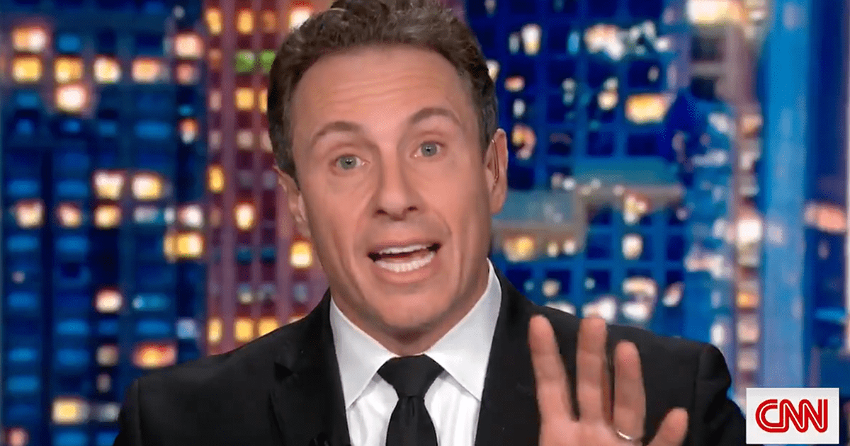 """WATCH: Chris Cuomo explains """"obviously I am aware of what is going on with my brother and obviously I cannot cover it"""""""