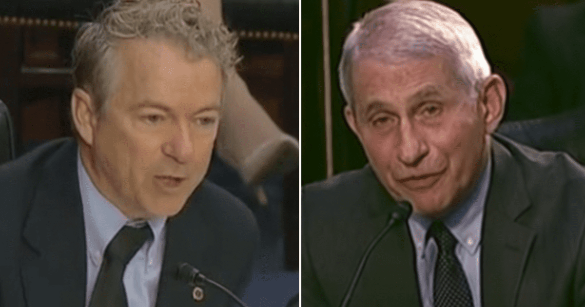"""Rand Paul suggests Fauci should face jail time for """"felony"""" of lying to Congress"""