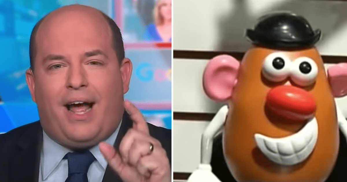 """WATCH: Stelter rages against conservative media, says """"Potato Head distracts from the suffering so many people are going through"""""""