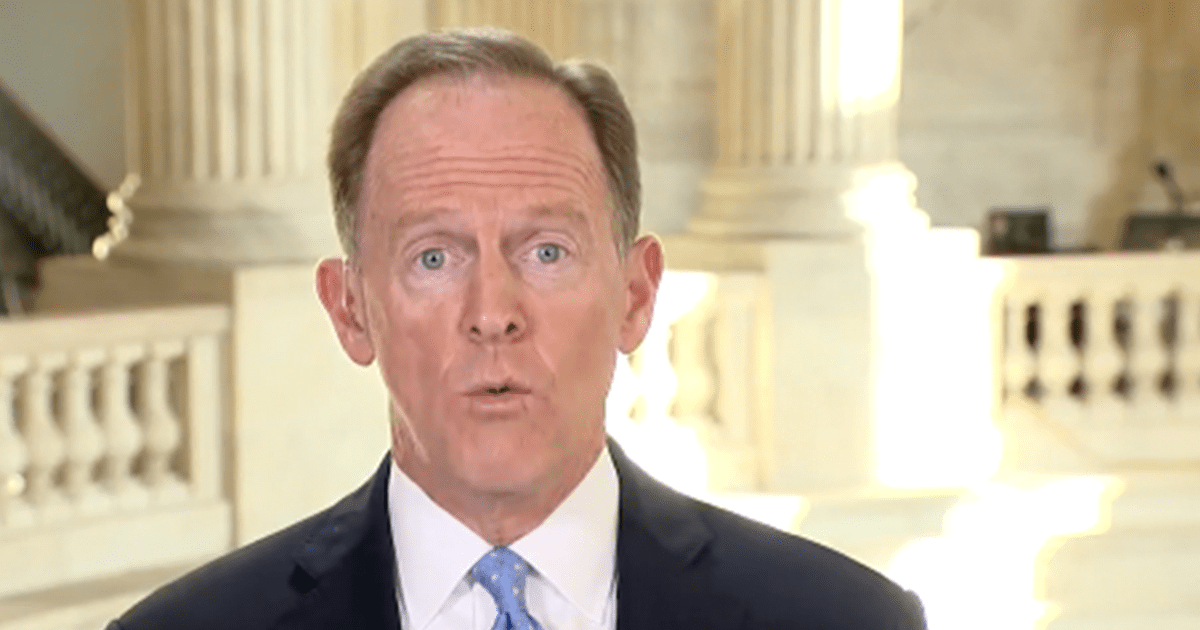 WATCH: Toomey says he doesn't think Trump will be 2024 nominee and if he is, he's unlikely to support him