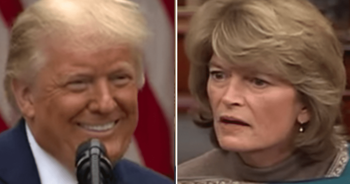 Trump announces he'll travel to Alaska to campaign against Murkowski's re-election