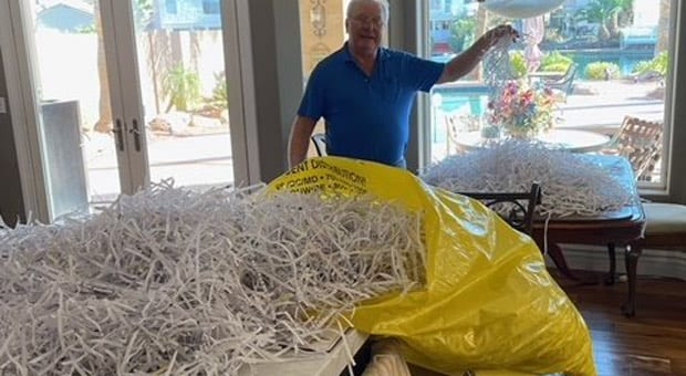 the ballots were found shredded in a dumpster in maricopa county arizona