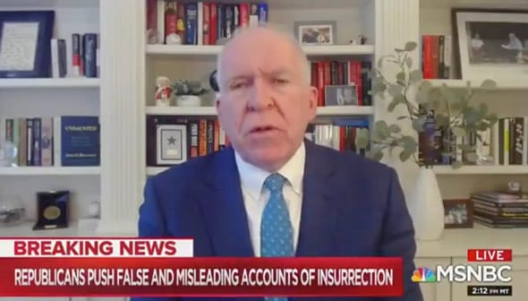 i don t believe that the white house did any of that in advance of january 6 brennan said