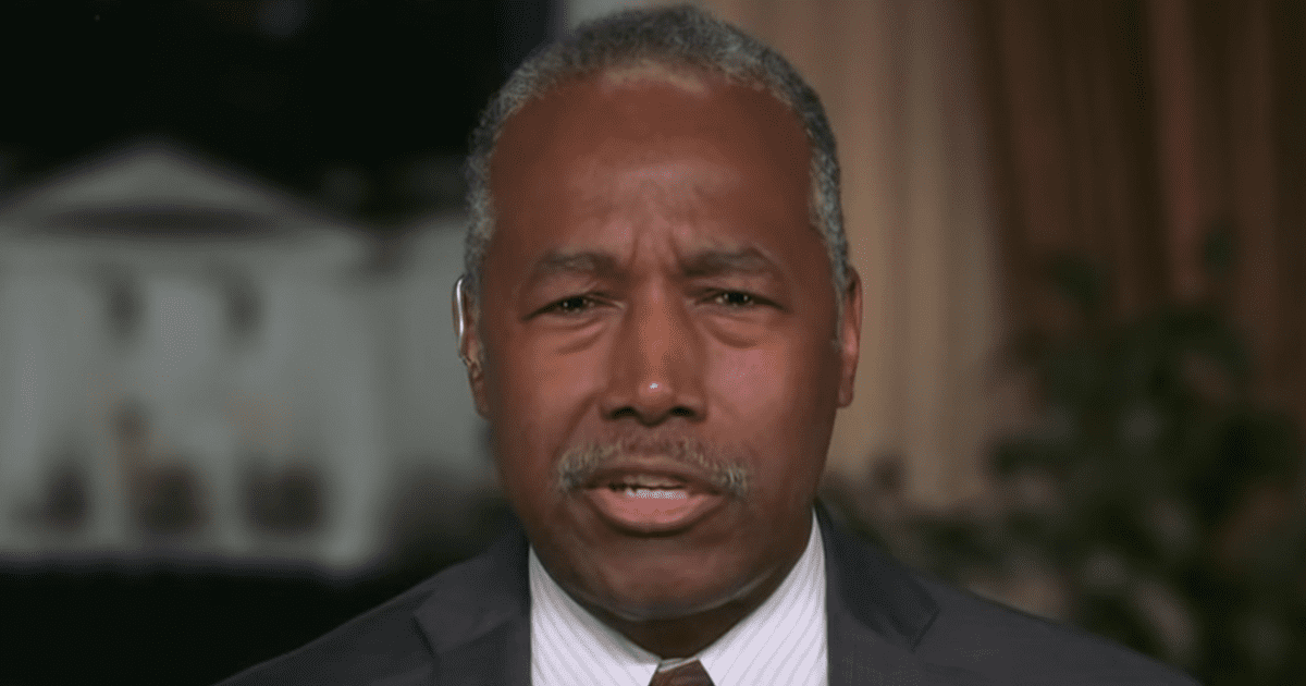"""WATCH: Carson says it's """"offensive"""" for Dems to claim Black people can't find ID to vote"""